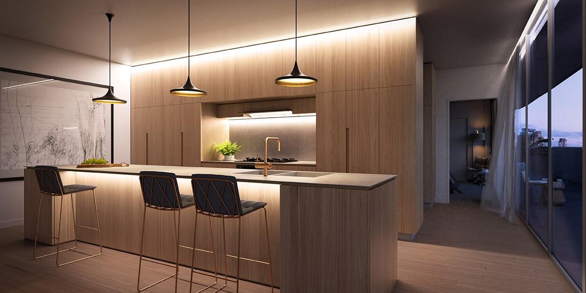 05 Interior Kitchen Dusk