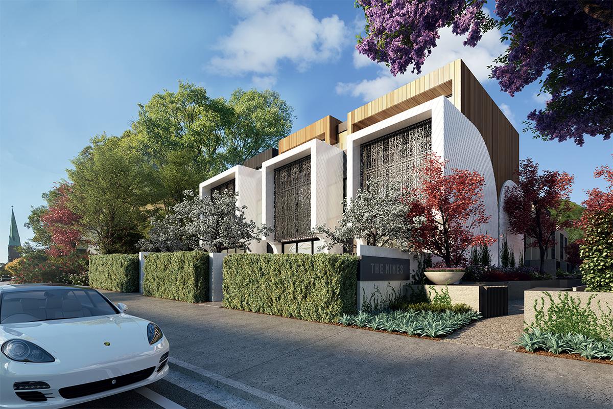 Naremburn Luxury Terraces; Sydney