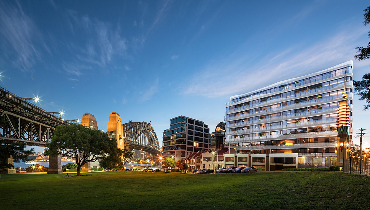 Milsons Point luxury apartments; Sydney