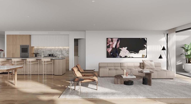 Kensington_Penthouse_Living Kitchen (002)